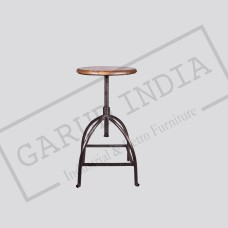 Industrial Adjustable metal Stool