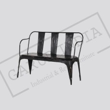 Industrial 3 seater bench