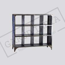 Industrial Metal book case