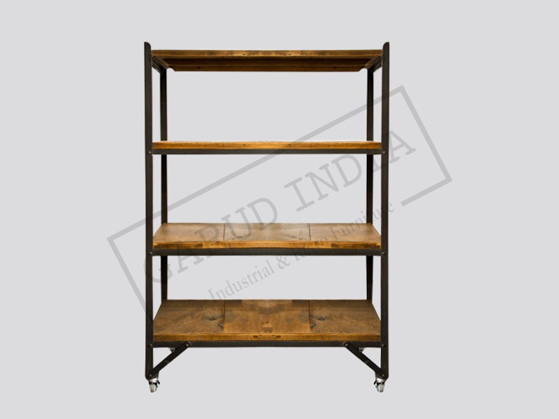 Industrial Vintage Factory Shelves