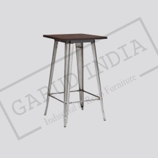 Industrial bar table