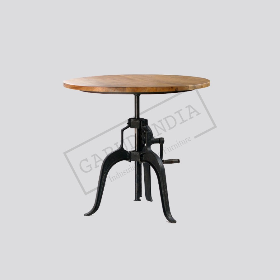 Round crank table industrial round crank table geotapseo Image collections