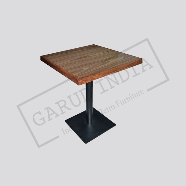 Outdoor cafe table