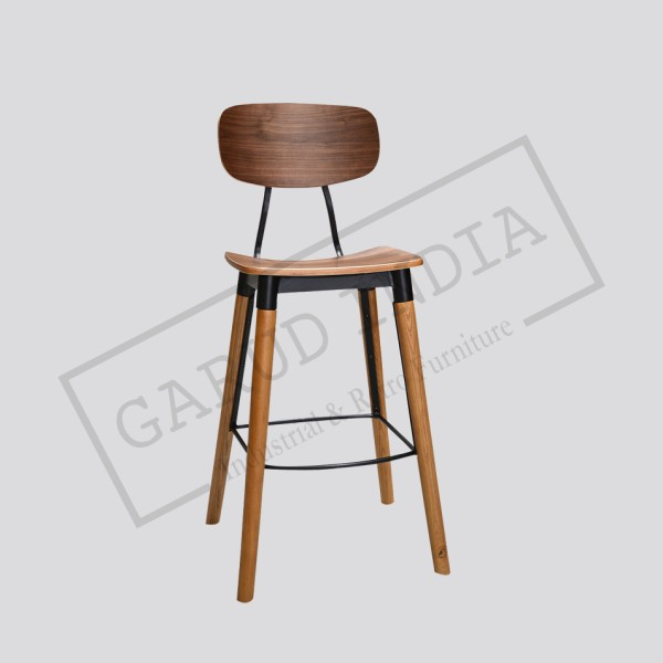 Industrial Modern Bar Chair