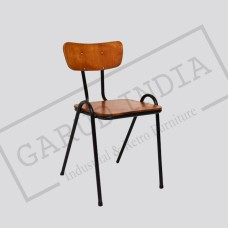 Industrial cafe chair