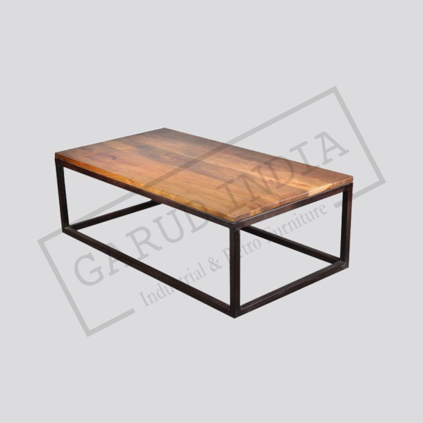 Industrial style coffee table