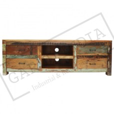 Reclaimed Wood Tv unit