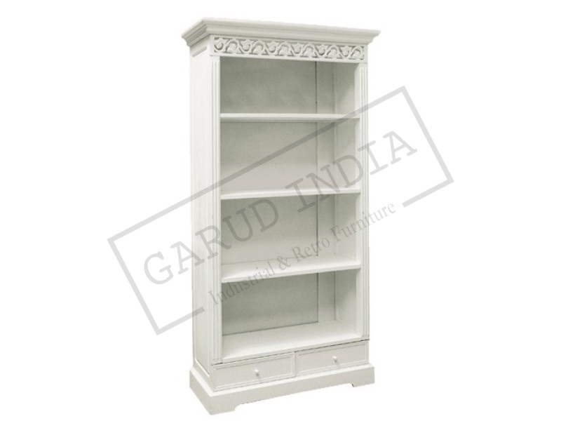 Shabby Chic Bookcases With Drawers