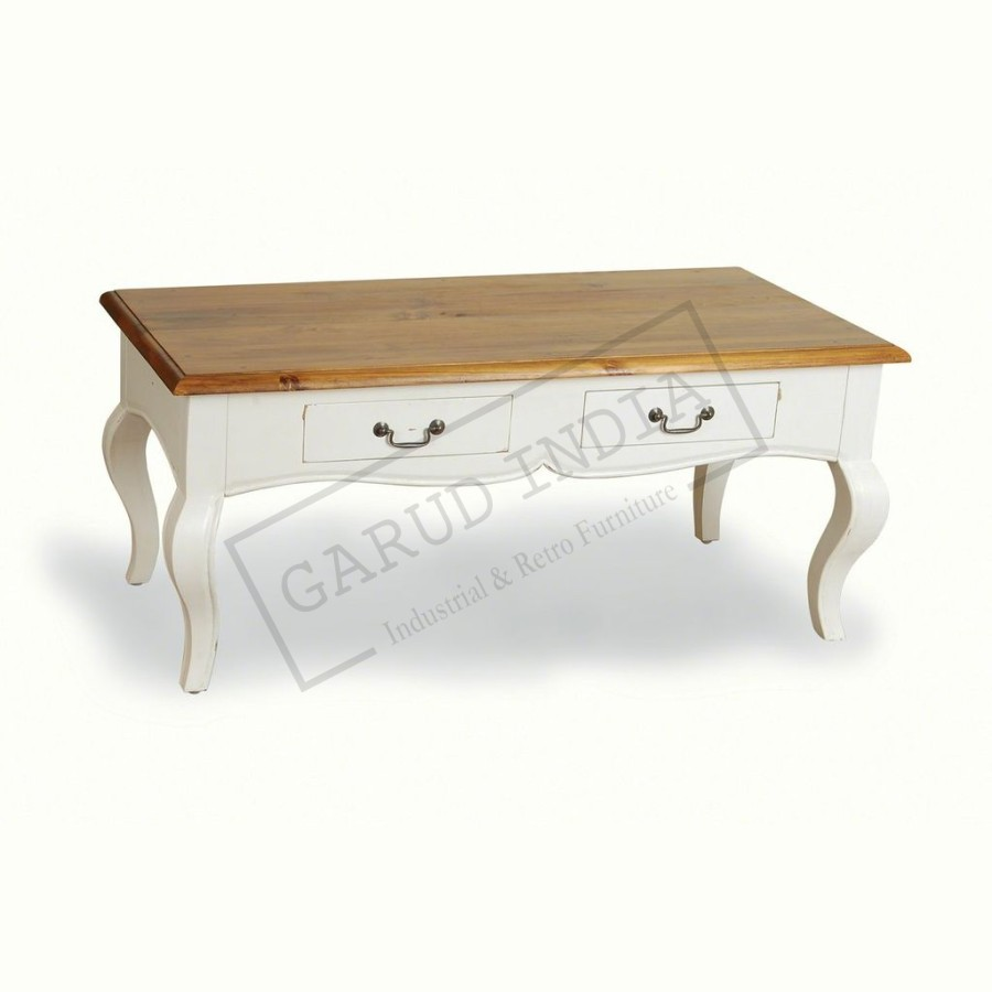 Chic coffee table with drawers shabby chic coffee table with drawers geotapseo Images