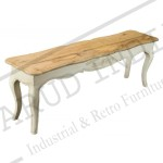 Shabby Chic Dining Room Table Bench