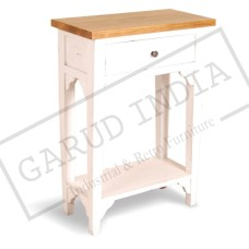 Shabby Chick Bed Side Table
