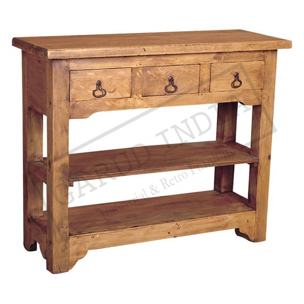 Side Table 3 Drawers