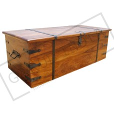 Solid Wood Storage Trunk