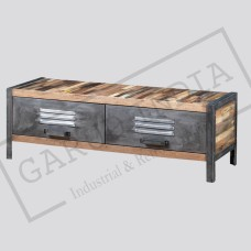 Locker Style TV Unit
