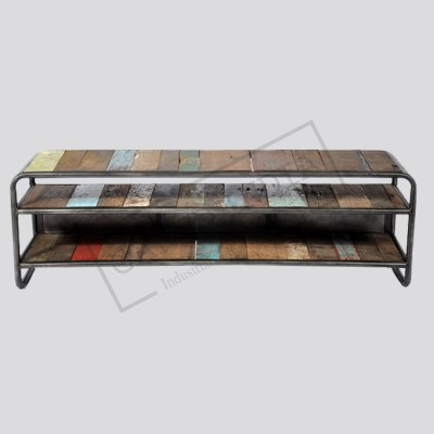 Industrial Retro tv unit