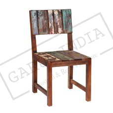 Reclaimed Wood Funky Chair