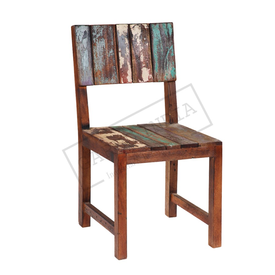 Wonderful Reclaimed Wood Funky Chair