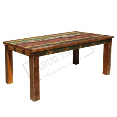 Reclaimed Wood Classic Dining Table