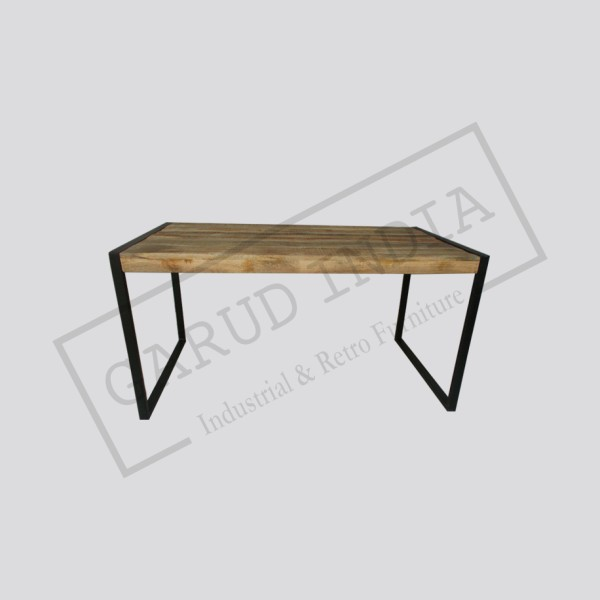 Industrial dining table 4