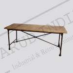 Industrial dining table 5