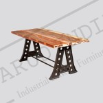 Industrial dining table 6