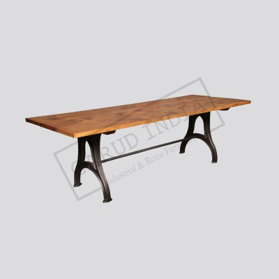 Industrial dining table 10