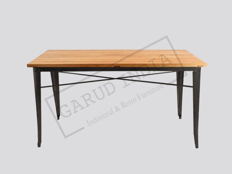 Industrial dining table 11