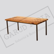 Industrial dining table 12