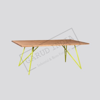 Industrial dining table 13