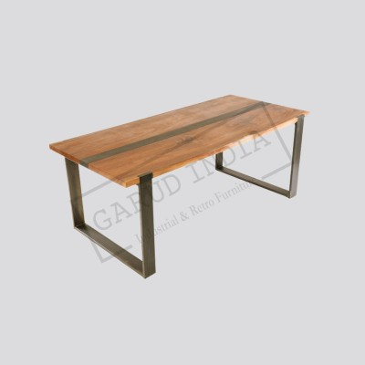 Industrial dining table 14