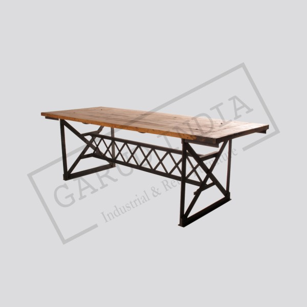 Industrial dining table 15
