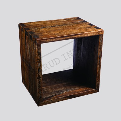 Industrial Cube Side table