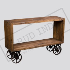 Industrial Cart console