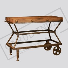 Industrial Princess cut console