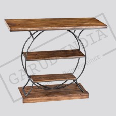 Industrial Round Body console