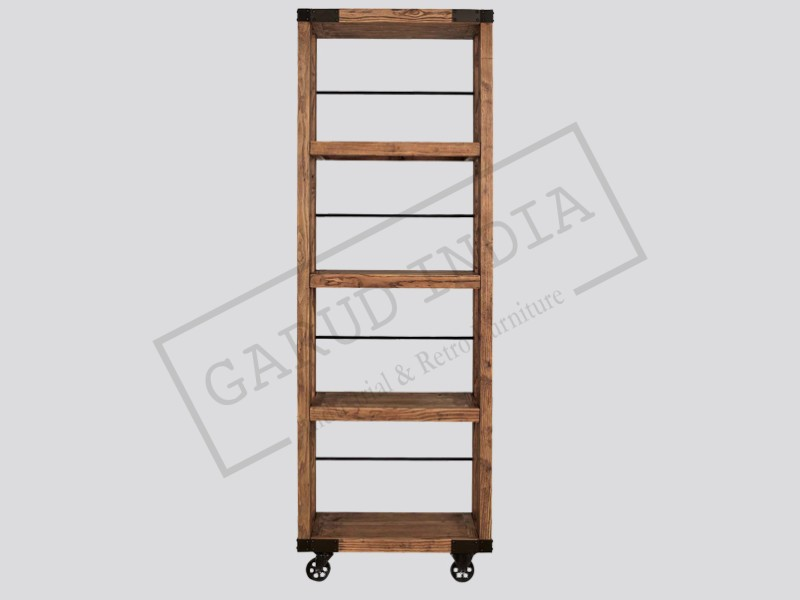 Industrial Bookshelf 4