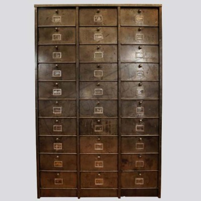 Industrial Metal Cabinet 30 Drawers
