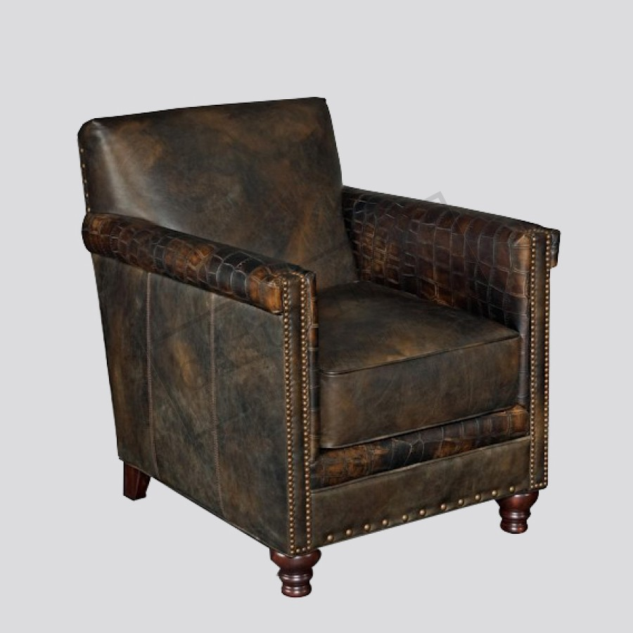 Swell Distressed Leather Club Chair Camellatalisay Diy Chair Ideas Camellatalisaycom